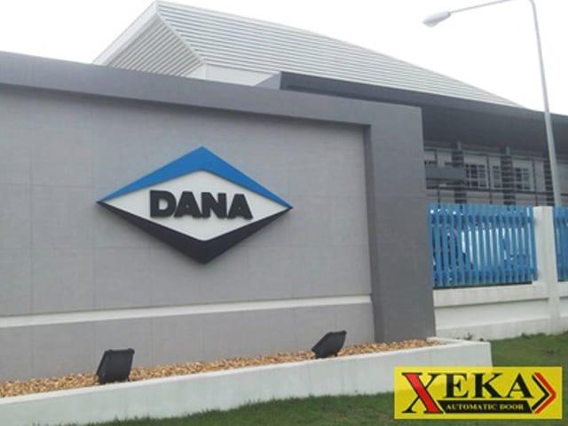 DANA จ.ระยองติดตั้งชุดรางเลื่อน XEKA