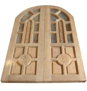 การเลือกประตูไม้สัก