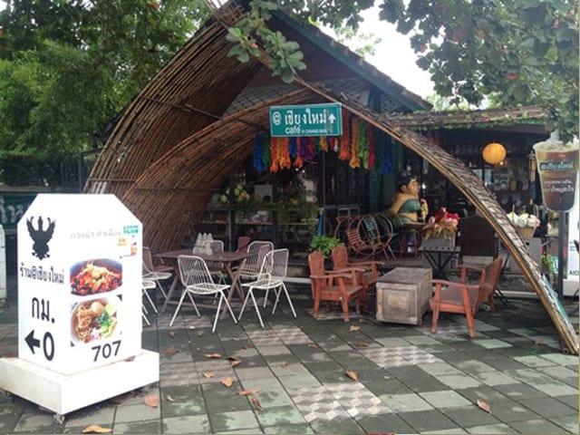 ประตูบานเลื่อนอัตโนมัติ XEKA ร้านกาแฟ@เชียงใหม่