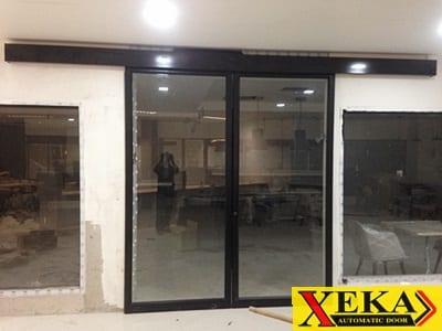 บริษัท สหโฟกัสโฮม ติดตั้งรางประตูอัตโนมัติ XEKA