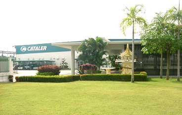 บริษัท แคททาเลอร์ (ประเทศไทย) จำกัด ติดตั้ง ประตูม้วนผ้าใบ จุดที่ 2