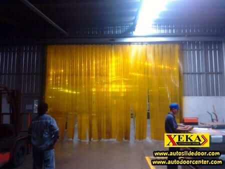 ประตูม่าน PVC อัตโนมัติ