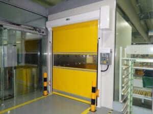 ประตูม้วนห้องปลอดเชื้อ