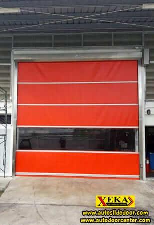 ประตูม้วนผ้าใบ Rapid Roll Door