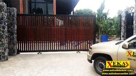 ประตูรั้วอัตโนมัติ