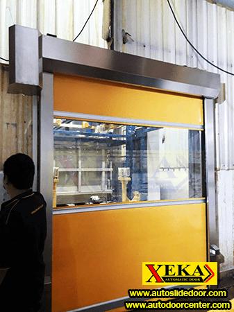 ประตูม้วน PVC อัตโนมัติ