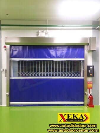 ประตูม้วน PVC