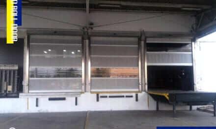 BRAND'S Suntory (Thailand) Co., Ltd. ติดตั้ง ประตูม้วนกันแมลงอัตโนมัติ